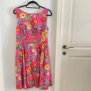 Kate Spade floral cotton dress size 12